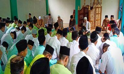 MA Malnu Pusat Menes Doa Bersama Korban Lion Air