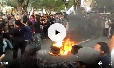 Mahasiswa Sebut WH-Andika Pembohong Rakyat Banten!