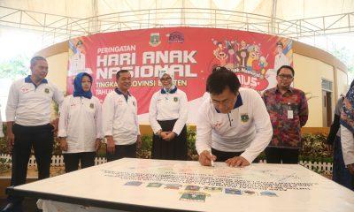 Peringatan Hari Anak Nasional di Banten