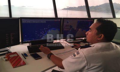 Pantau Lalu Lintas Pelayaran di Selat Sunda