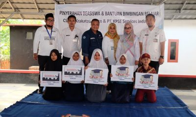 PT Krakatau Posco Berikan Beasiswa