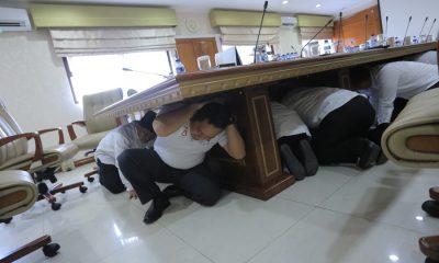 Pemkot Tangerang diguncang Gempa, Pejabat Menyelamatkan Diri ke Kolong Meja