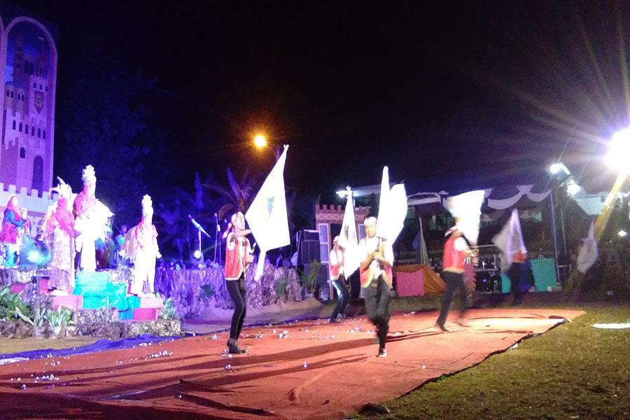 Pentas Seni Akbar SMA CMBBS dengan penampilan drama Ain Jalut