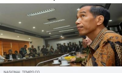 Postingan berita soal IPK Jokowi