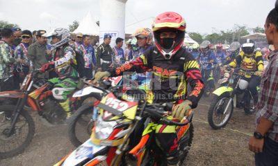 Rider Ikuti Trail Adventure di Pandeglang