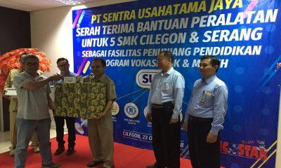Bantuan dari PT Sentra Usahatama Jaya