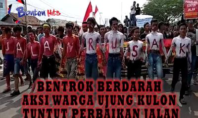 Aksi Gerakan Masyarakat Ujung Kulon Sebut Ada Tiga Korban saat Bentrok Berdarah di KP3B
