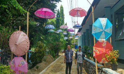 Taman Selfie SMPN 3 Rangkasbitung