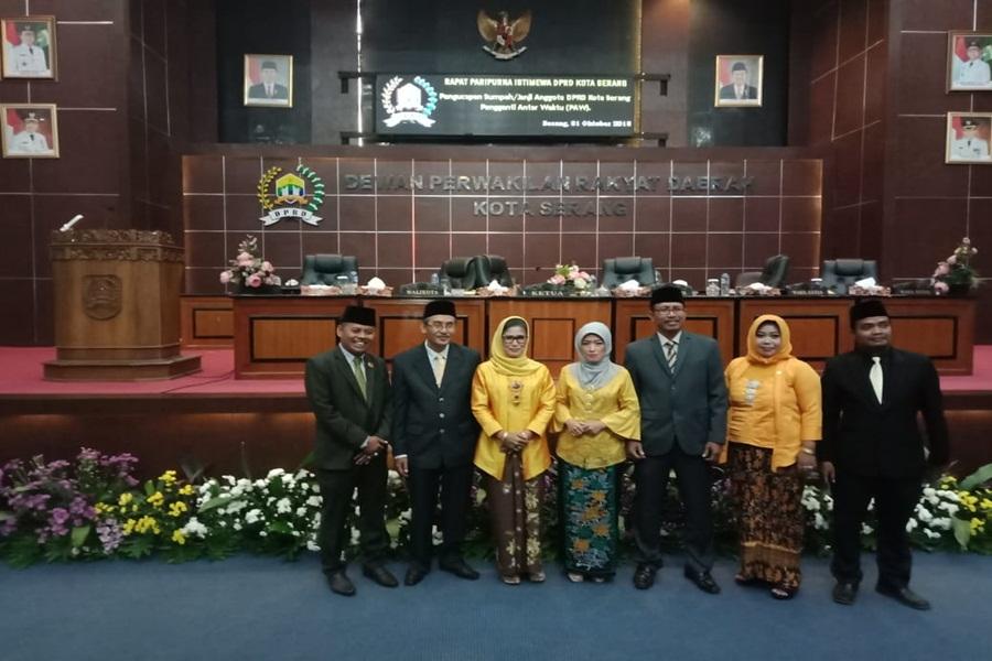 Tiga Anggota Dprd Kota Serang Hasil Paw Dilantik Bantenhits