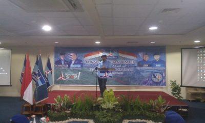Wahidin Halim Sambutan di Bimtek Caleg Tangerang Raya