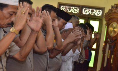 Polresta Tangerang Gelar Doa dan Salat Gaib untuk Penumpang Lion Air
