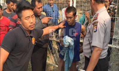 kepergok mencuri di villa, empat anak nyaris diamuk warga Pulomerak
