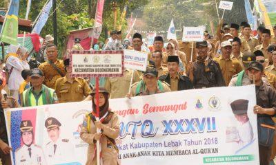 15.000 Warga Ikut Pawai Taaruf MTQ XXXVII Kabupaten Lebak