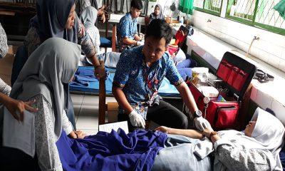 SMAN 3 Rangkasbitung Gelar Donor Darah