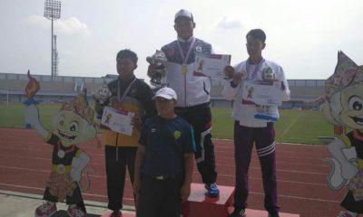 Sabet Tiga Emas, Cabor Atletik Tambah Perolehan Medali Kontingen Lebak