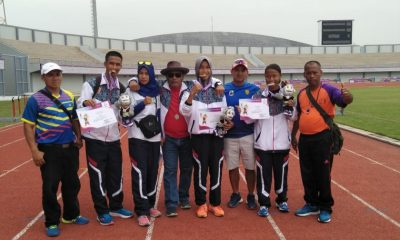 Kontingen Kabupaten Lebak Kembali Tambah Koleksib Medali Porprov V Banten dari Atletik dan Renang