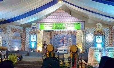 Bupati Lebak Iti Octavia Jayabaya saat membuka MTQ XXXVII Kabupaten Lebak