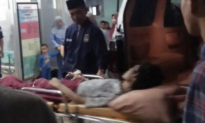 Ketua Badak Banten Bawa Penderita Gagal Ginjal yang Kondisinya Memilukan Berobat ke RSUD dr. Adjidarmo