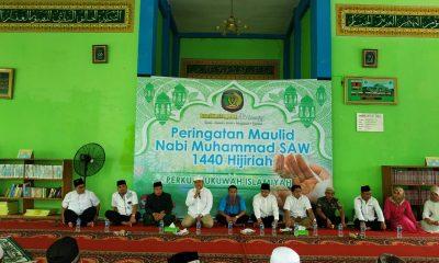 Rutan Kelas I Tangerang melaksanakan muhasabah dan pengajian dalam rangka menyambut maulid nabi 1440 H