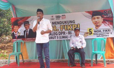 Caleg DPR RI nomor urut 5 untuk Dapil Banten 2 dari PKS Mohamad Fikri