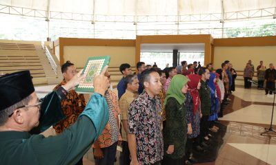 Pj. Sekda Banten Lantik 40 Pejabat Fungsional Baru di Lingkungan Pemprov