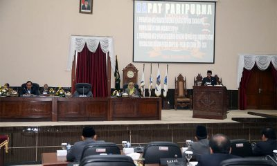 WH sampaikan Nota Keuangan, APBD Banten 2019 Naik Menjadi Rp 12, 31 T