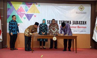 Ketua BPK Perwakilan Provinsi Banten Thomas Ipoeng Anjar Warsito Diganti Hari Wiwoho