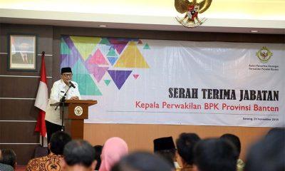 WH Hadiri Sertijab Ketua BPK Perwakilan Provinsi Banten