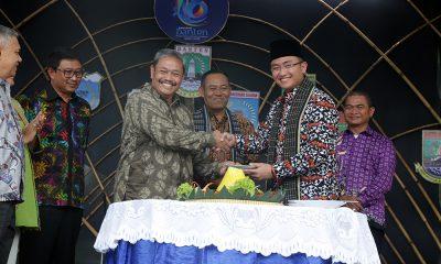 Wakil Gubernur Andika Hazrumy di TMII