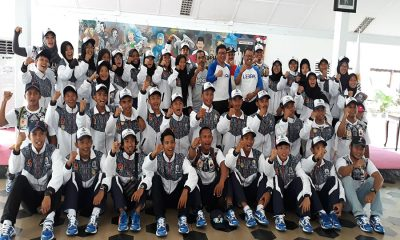 Atlet softball dan voli Kabupaten Lebak pada Porprov V Banten