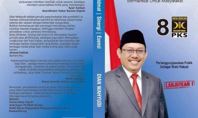 Dian Wahyudi Distribusikan Buku 'Rekam Jejak', Berharap Peningkatan Kualitas Ekonomi Masyarakat