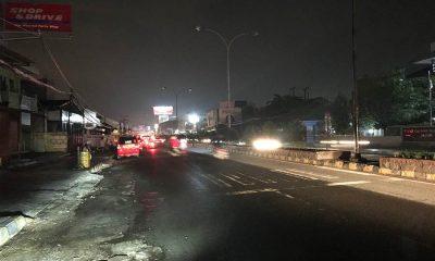 Hujan Deras, Tiga Kecamatan di Kota Cilegon Mati Lampu