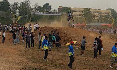 Atlet Balap Motor Kontingen Kabupaten Lebak