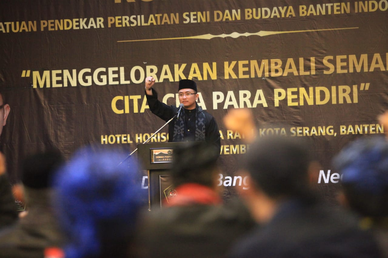 Andika Hazrumy Persatuan Pendekar Persilatan Seni dan Budaya Banten Indonesia (PPPSBBI)