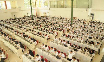 Ribuan CPNS di Kabupaten Lebak Ikut Tes CAT, Iti Berharap Lahir ASN Profesional