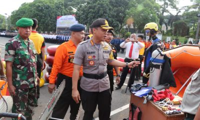 Antisipasi Bencana, Polres Metro Tangerang Kota Bentuk Pasukan Siaga Bencana