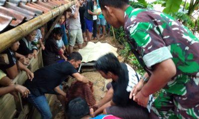 Warga Desa Kaduagung Timur Cibadak Tewas Tersambar Petir di Cijoro Pasir Rangkasbitung
