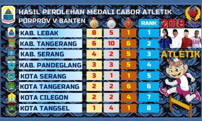 Kontingen Kabupaten Lebak Berjaya di Cabang Olahraga Atletik