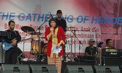 The Gathering of Heroes di Lapas Pemuda Tangerang