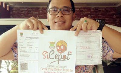 Ada Si Cepot, Kini Warga Kabupaten Tangerang Bisa Cetak PBB dengan Mudah