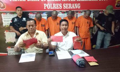 Satresnarkoba Polres Serang berhasil menangkap empat pengguna dan pengedar sabu di Kabupaten Serang.