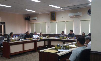Rapat koordinasi penertiban bangunan liar di Kota Serang
