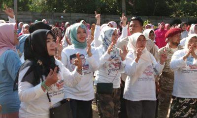 Nur Asia Uno Suarakan Gerakan Rabu Biru di Pandeglang