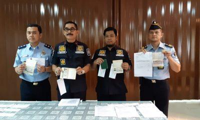 Kantor Imigrasi Bandara Soekarno Hatta Tangerang ungkap kasus paspor palsu