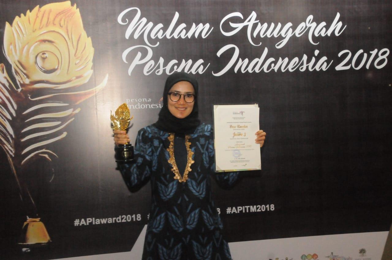 Wisata Budaya Baduy Sabet Penghargaan Kampung Adat Terpopuler Anugerah Pesona Indonesia 2018