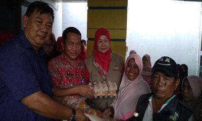 Dinsos Kota Tangerang serahkan bantuan pangan non tunai
