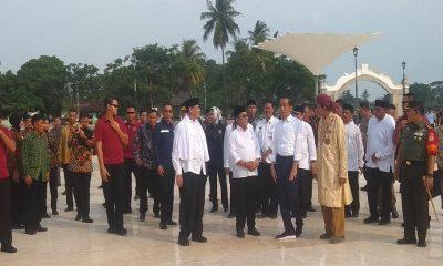Jokowi Kunjungi Banten Lama