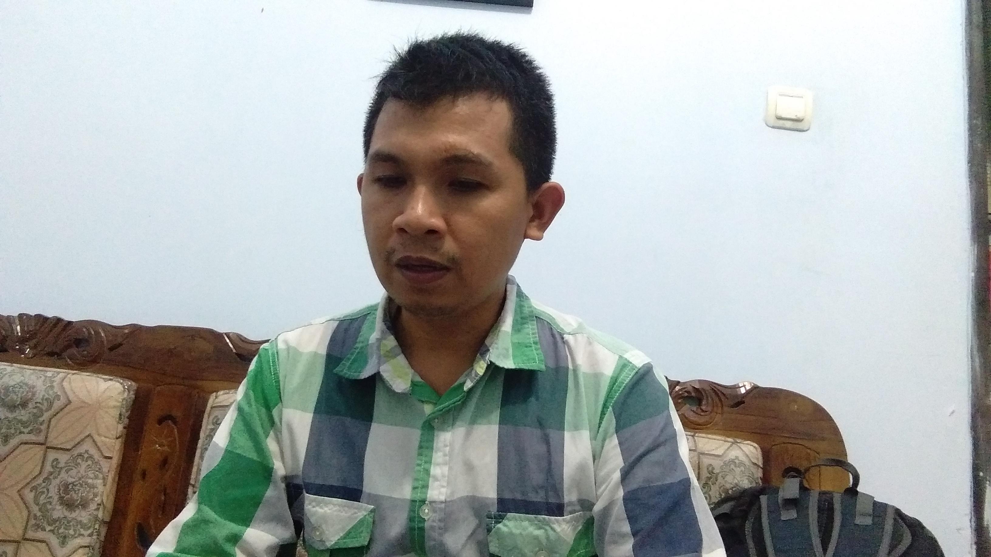 Komisioner KPU Kabupaten Pandeglang Ahmadi