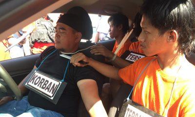 Peran Dua Bersaudara dalam Pembunuhan Driver GrabCar Terkuak dalam Rekonstruksi