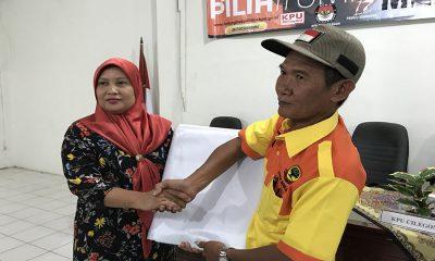 KPU Cilegon Bagikan APK kepada peserta pemilu 2019